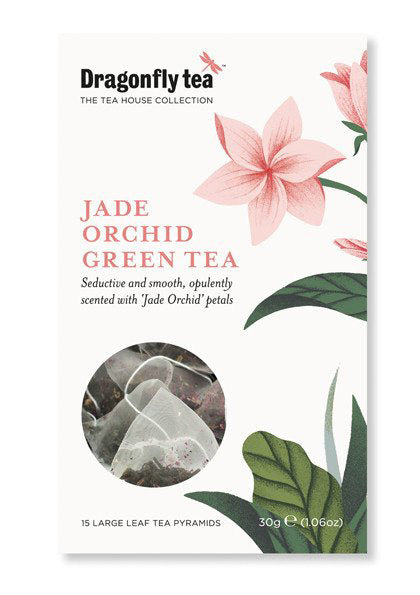 tea of the week - jade orchid green tea