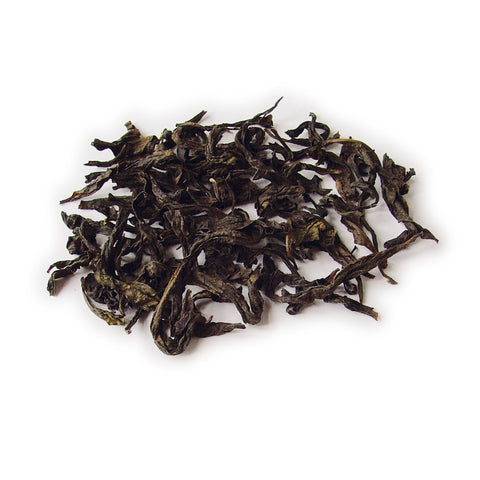 Oolong black tea leaves