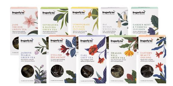 The new Dragonfly Tea Tea House Collection