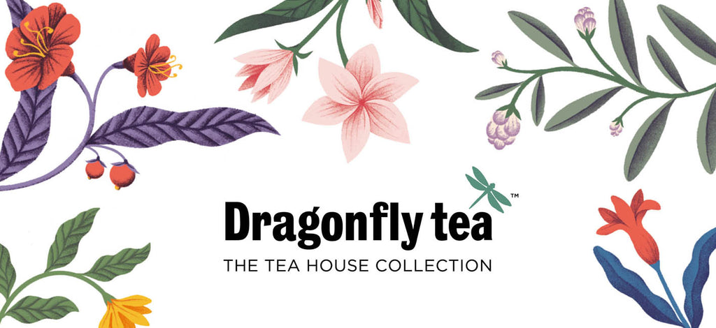 Dragonfly Tea artisan whole leaf teas - Tea House Collection