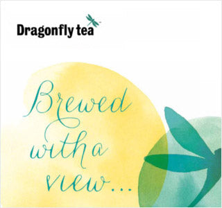 Dragonfly Tea making Brewed with a View