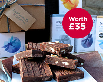 Dragonfly Tea and gourmet brownies