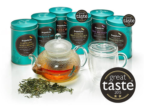 Dragonfly Teas win Great Taste Awards