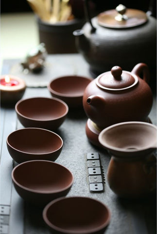 Tea ceremonies for mindfulness