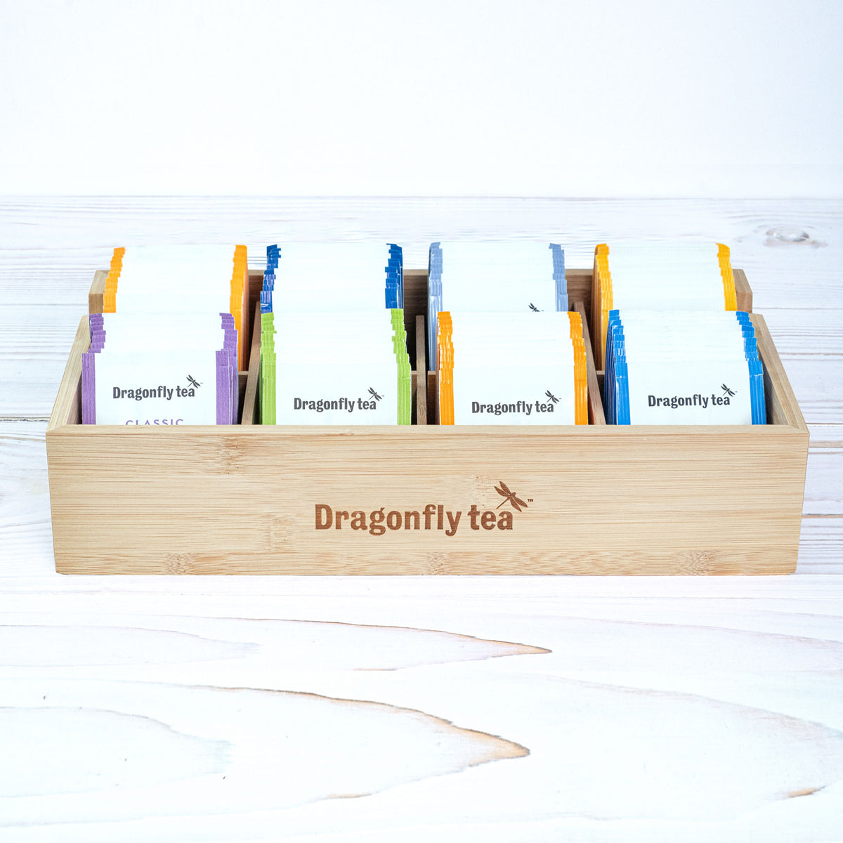 Dragonfly Tea Bamboo Box - Dragonfly Tea