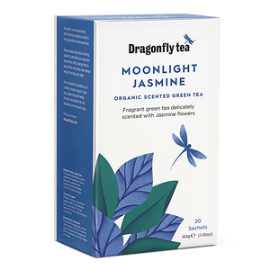 Moonlight Jasmine Organic Green Tea - Dragonfly Tea