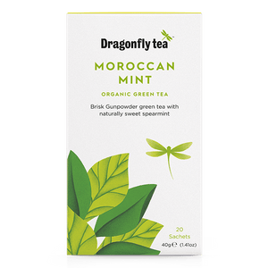 Moroccan Mint Organic Green Tea - Dragonfly Tea