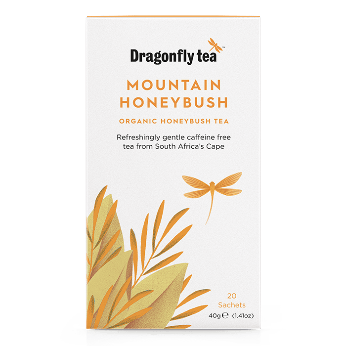 Mountain Honeybush Organic Tea - Dragonfly Tea