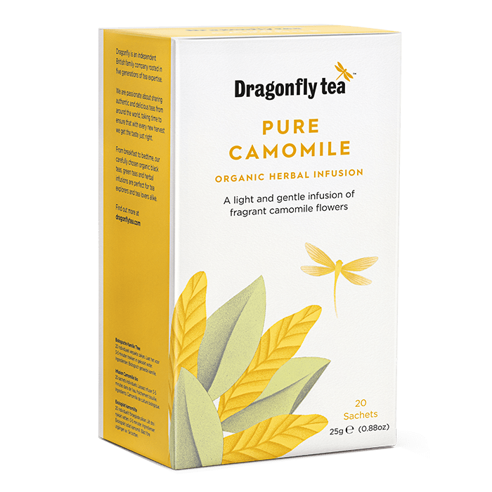 Organic Pure Camomile - Dragonfly Tea