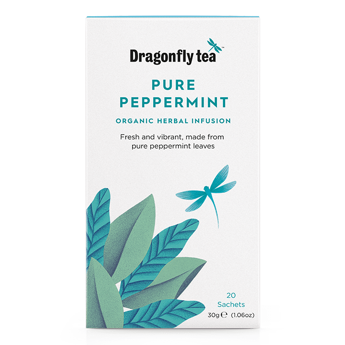 Organic Pure Peppermint - Dragonfly Tea
