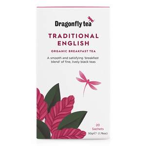 Traditional English Organic Breakfast Tea - Dragonfly Tea