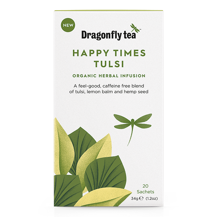 Organic Happy Times Tulsi - Dragonfly Tea