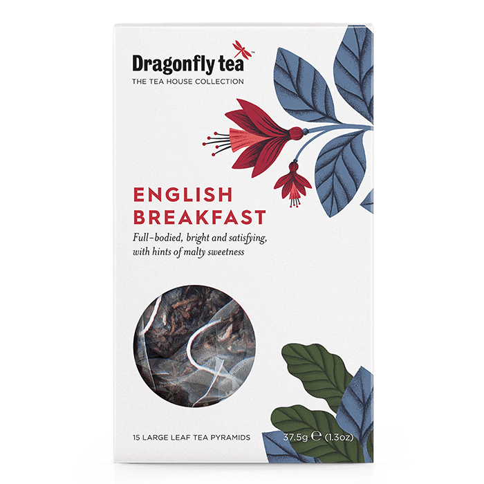 English Breakfast Tea - Dragonfly Tea