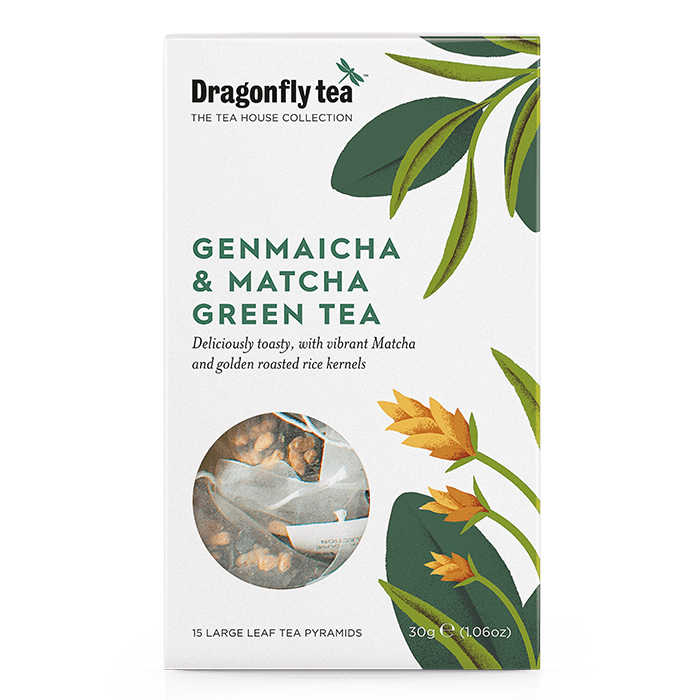 Genmaicha and Matcha Green Tea - Dragonfly Tea