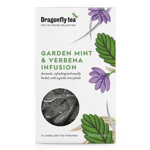 Garden Mint And Verbena Infusion - Dragonfly Tea