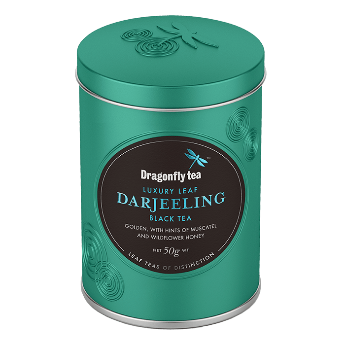 Luxury Leaf Darjeeling Black Tea - Dragonfly Tea