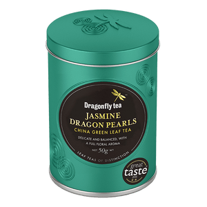 Jasmine Dragon Pearls Green China Tea - Dragonfly Tea