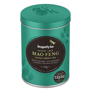 Luxury Leaf Mao Feng Green China Tea - Dragonfly Tea