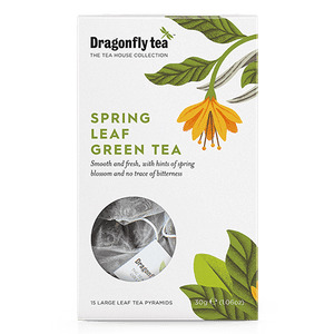 Spring Leaf Green Tea - Dragonfly Tea