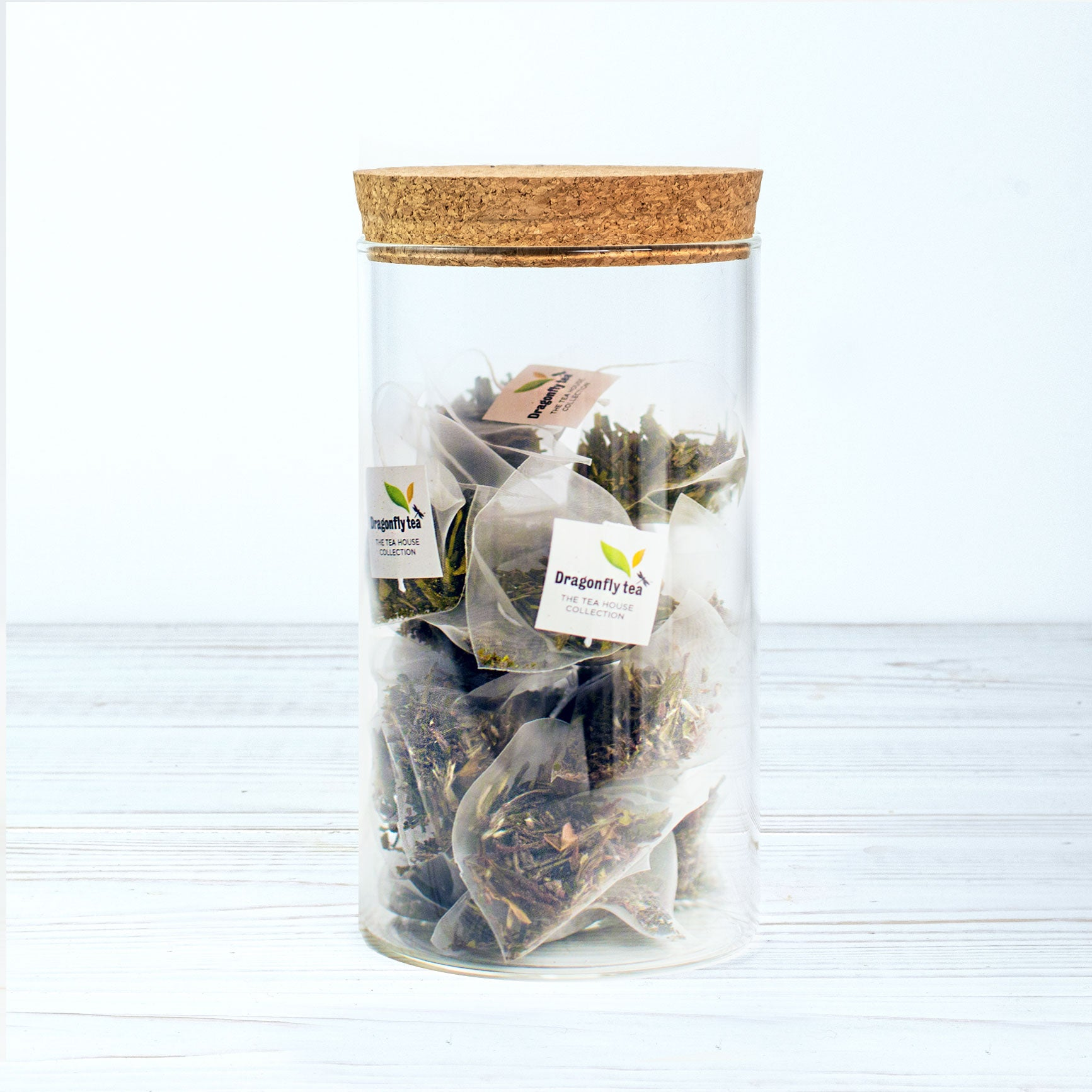 Glass Tea Jar - Dragonfly Tea