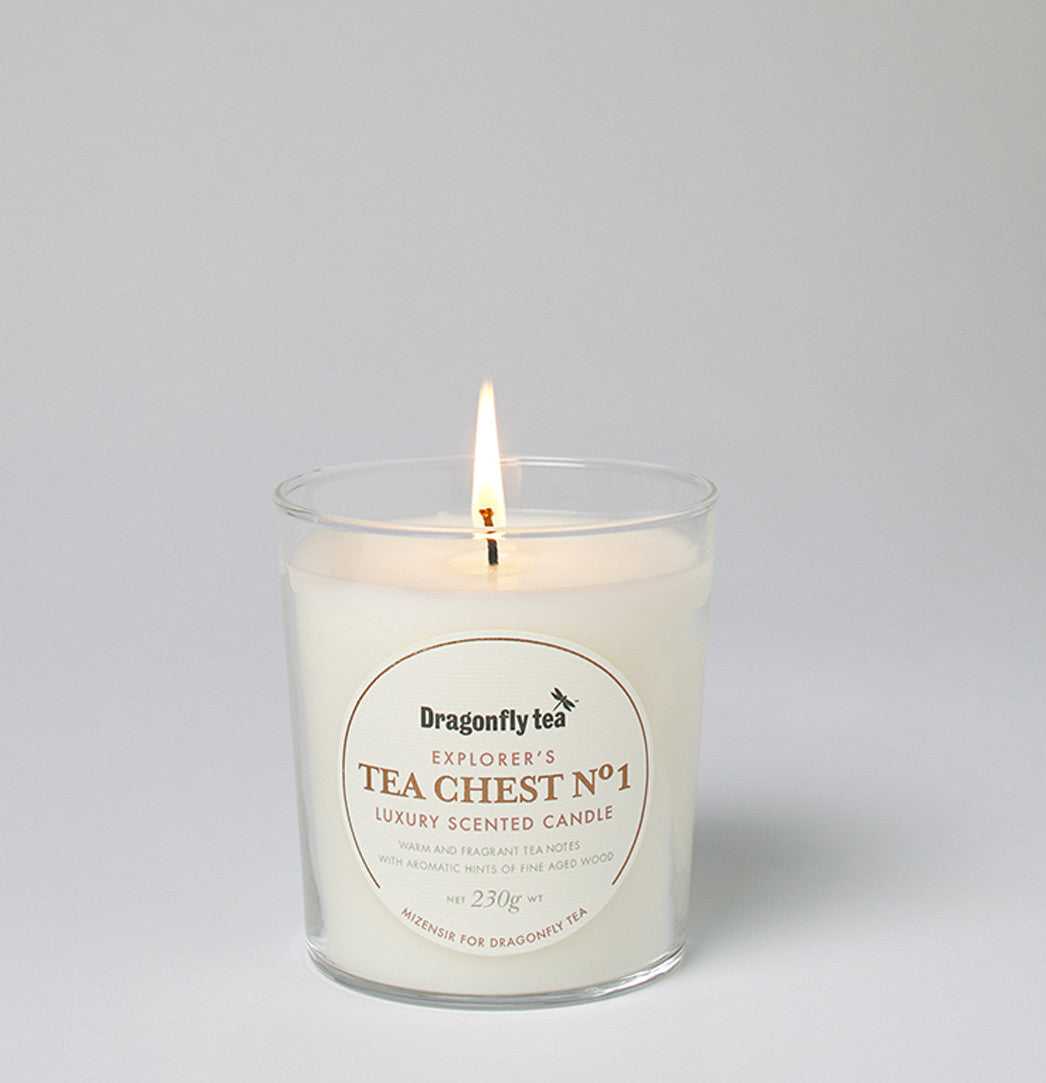 tea scented candle
