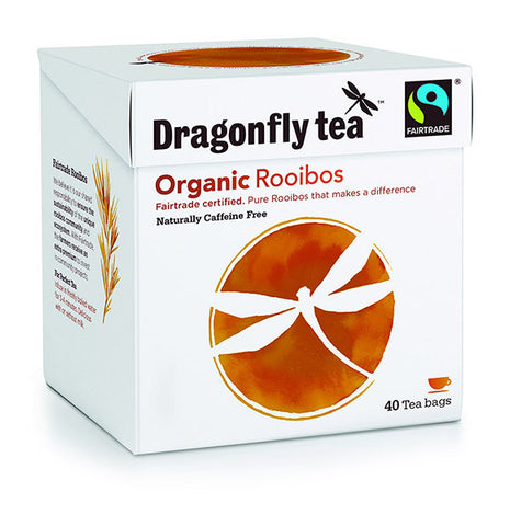 Fairtrade organic rooibos tea bags