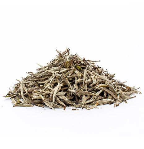 Silver Needle White Leaf Tea - Dragonfly Tea