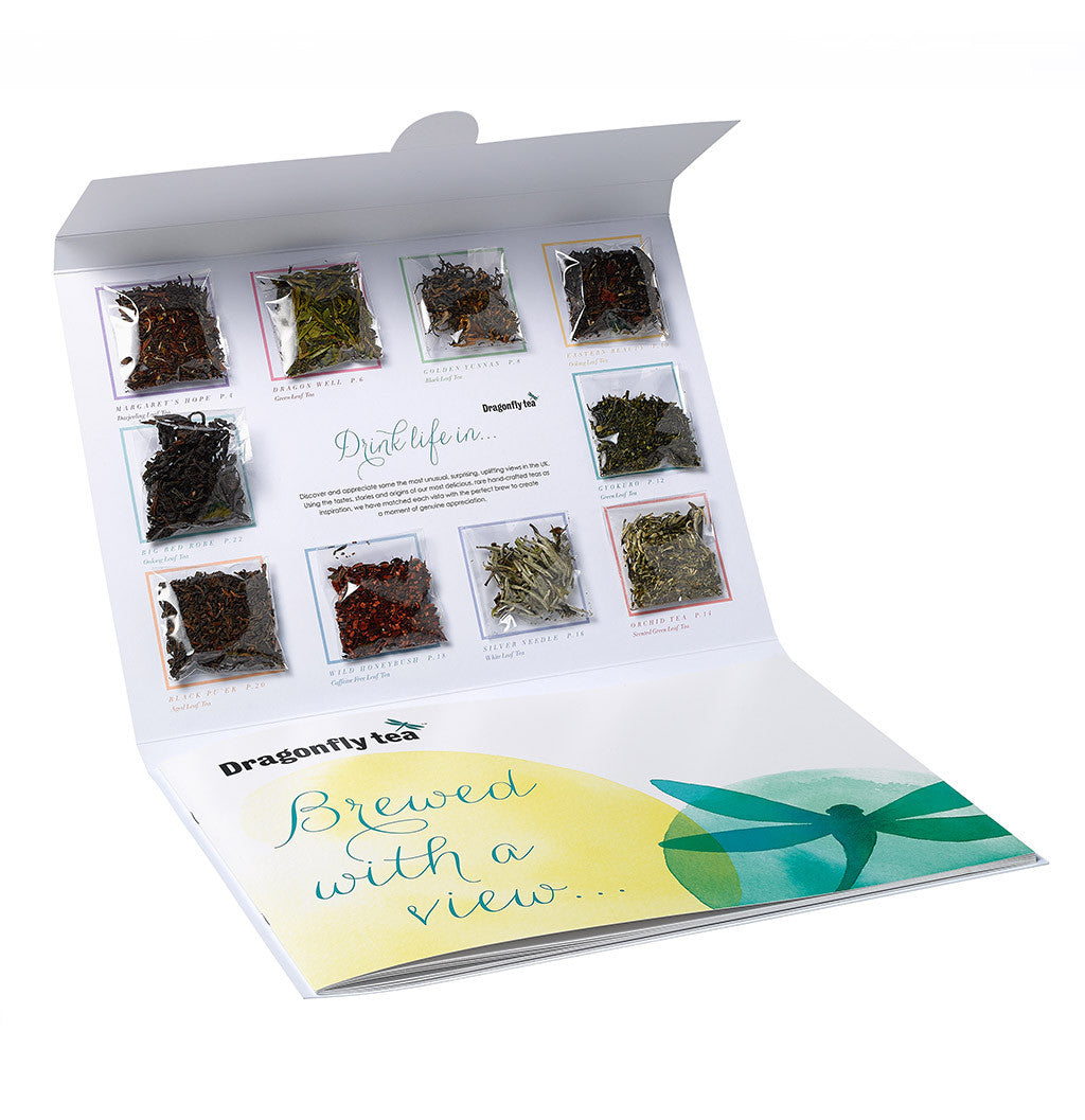 Dragonfly tea collection