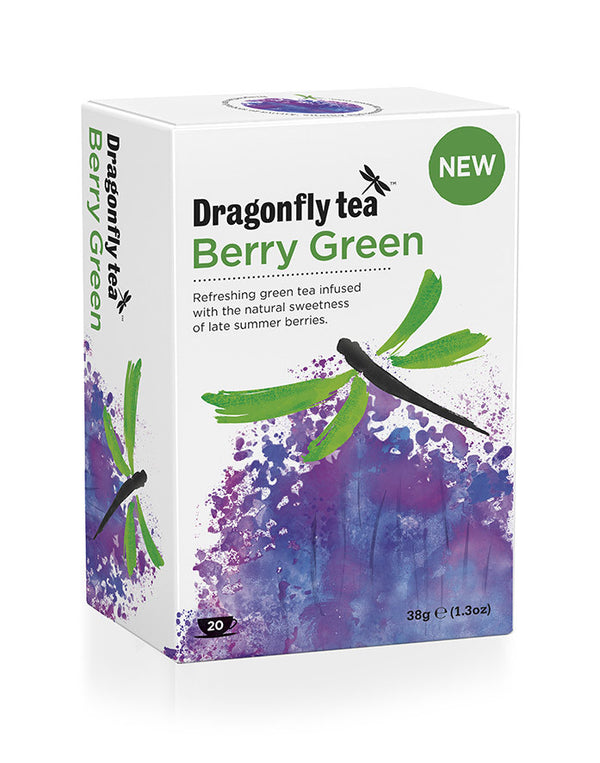 Dragonfly Berry Green