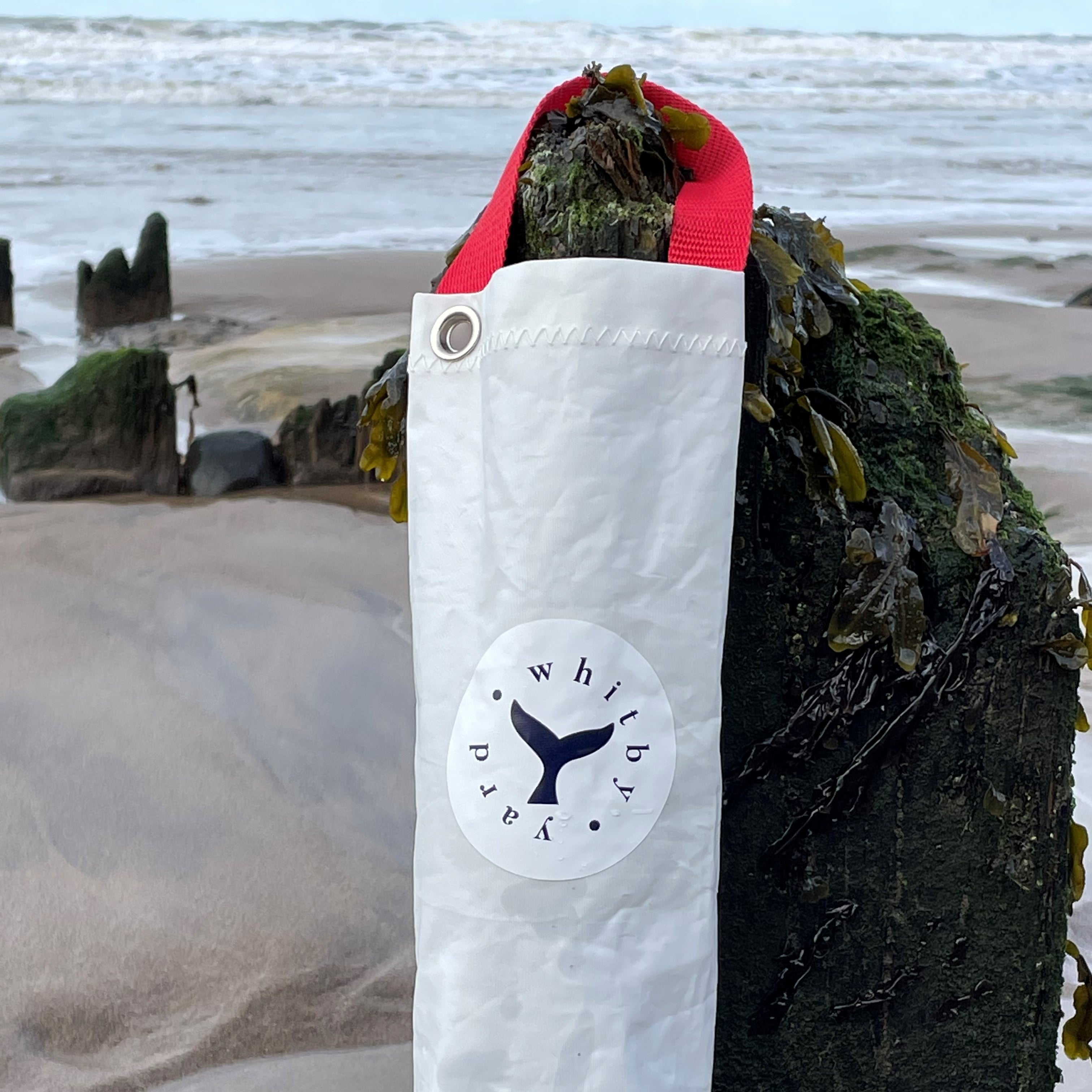 Recycled Sailcloth Bottle Bag
