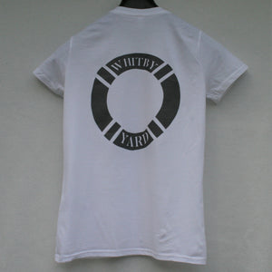 Unisex Lifebuoy T shirt in White