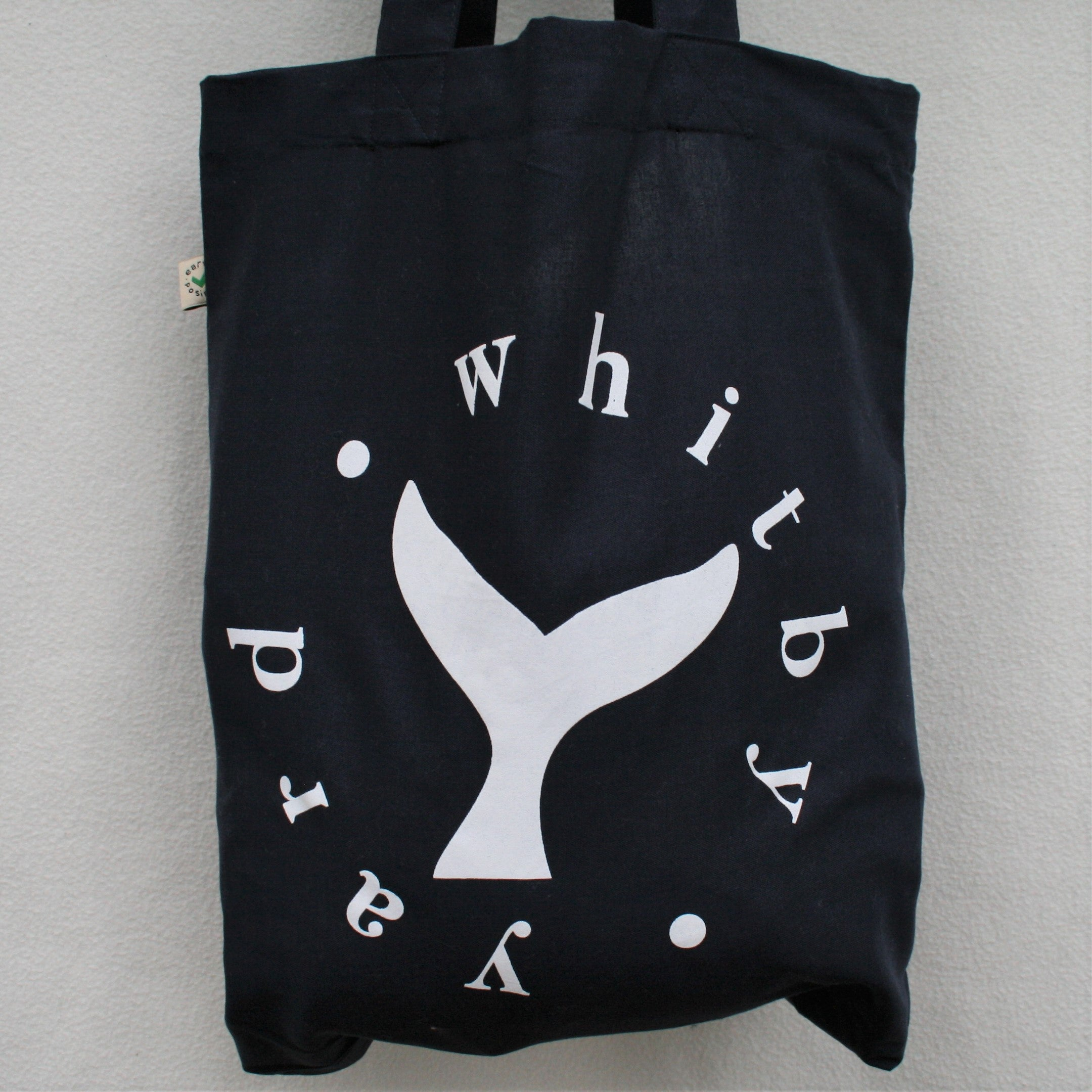 Navy Cotton Tote Bag