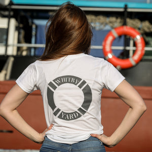 Womens Lifebuoy T shirt in White