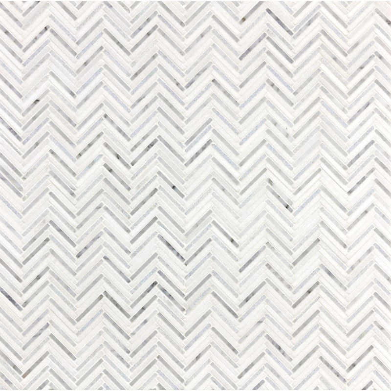 Thin Herringbone Blue Marble Swatch Card  Polished Samples product photo