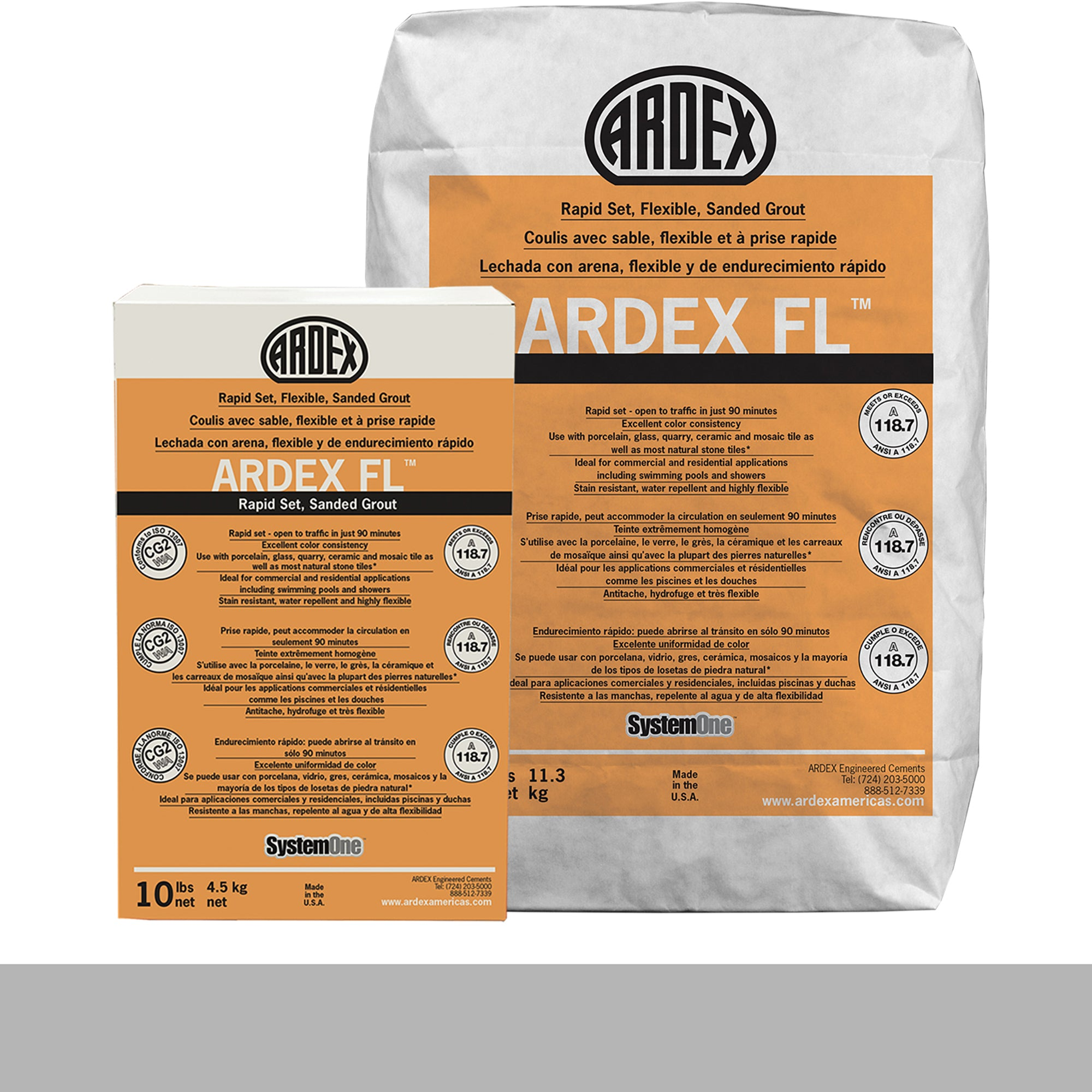 Ardex Fl Grout 10-Irish Creme 10-Lb Bag Grout Sanded product photo