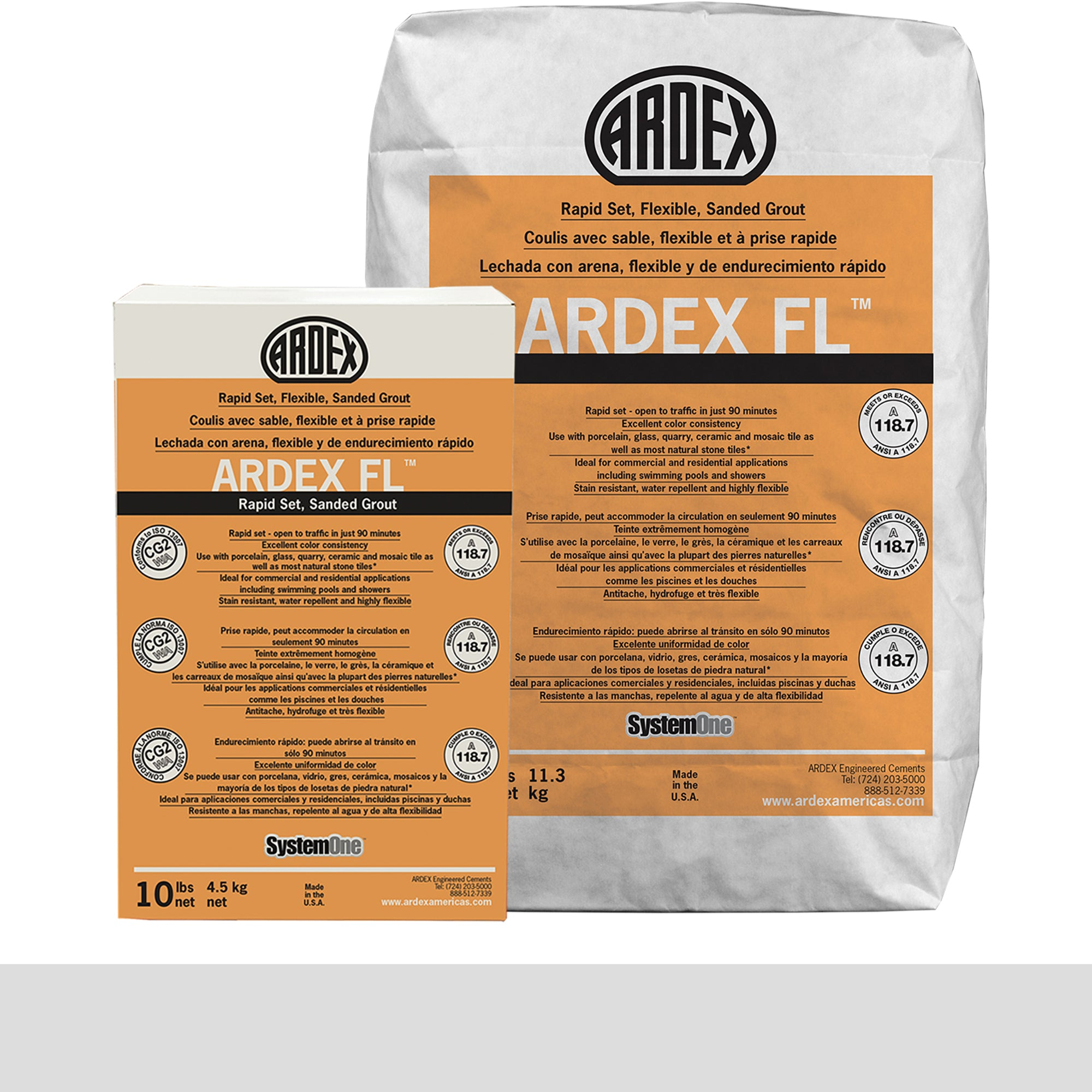 Ardex Fl Grout 03-Sugar Cookie 10-Lb Bag Grout Sanded product photo