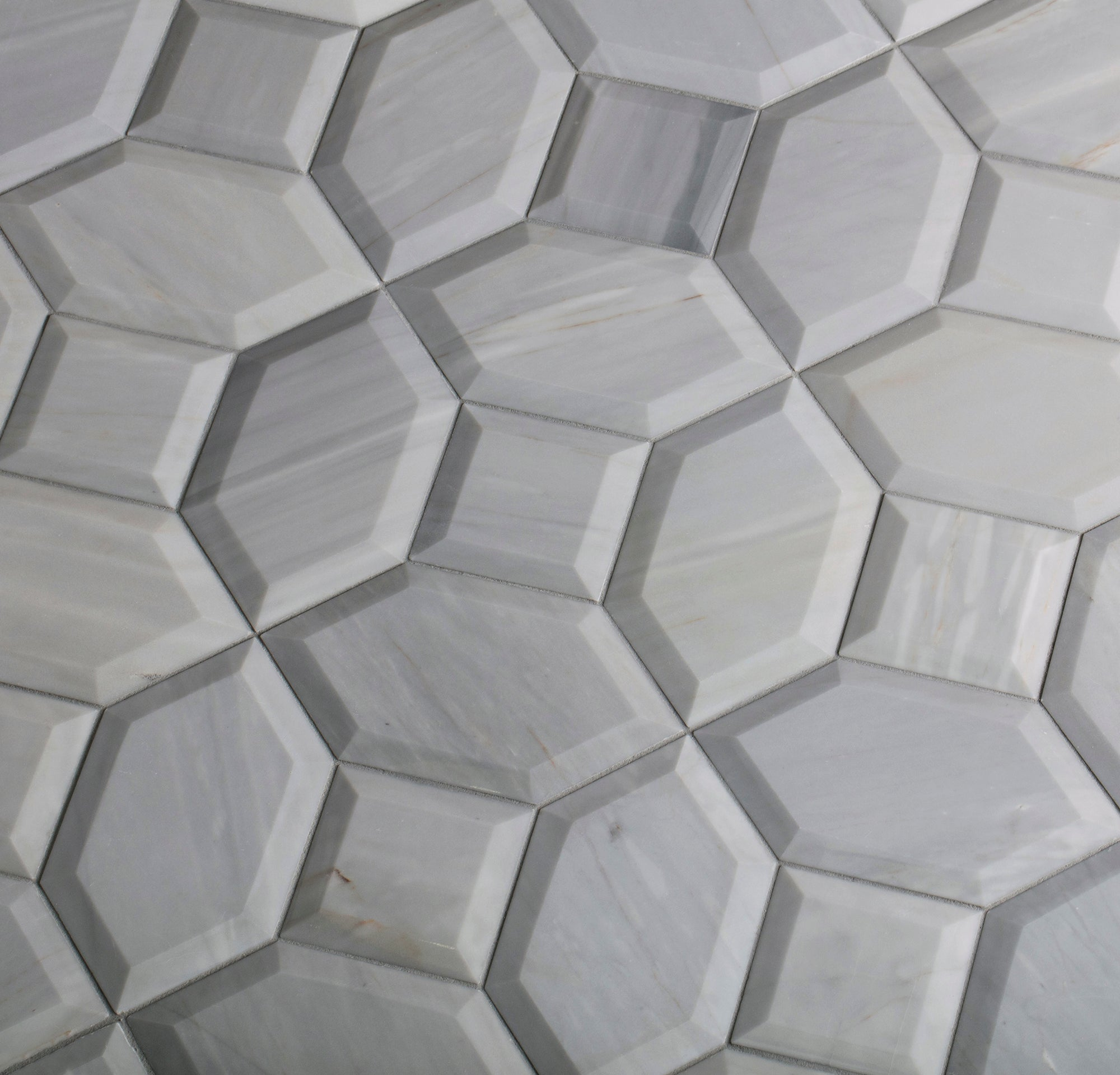 Prime Grey Marble Field Dimensional beauty shot product photo