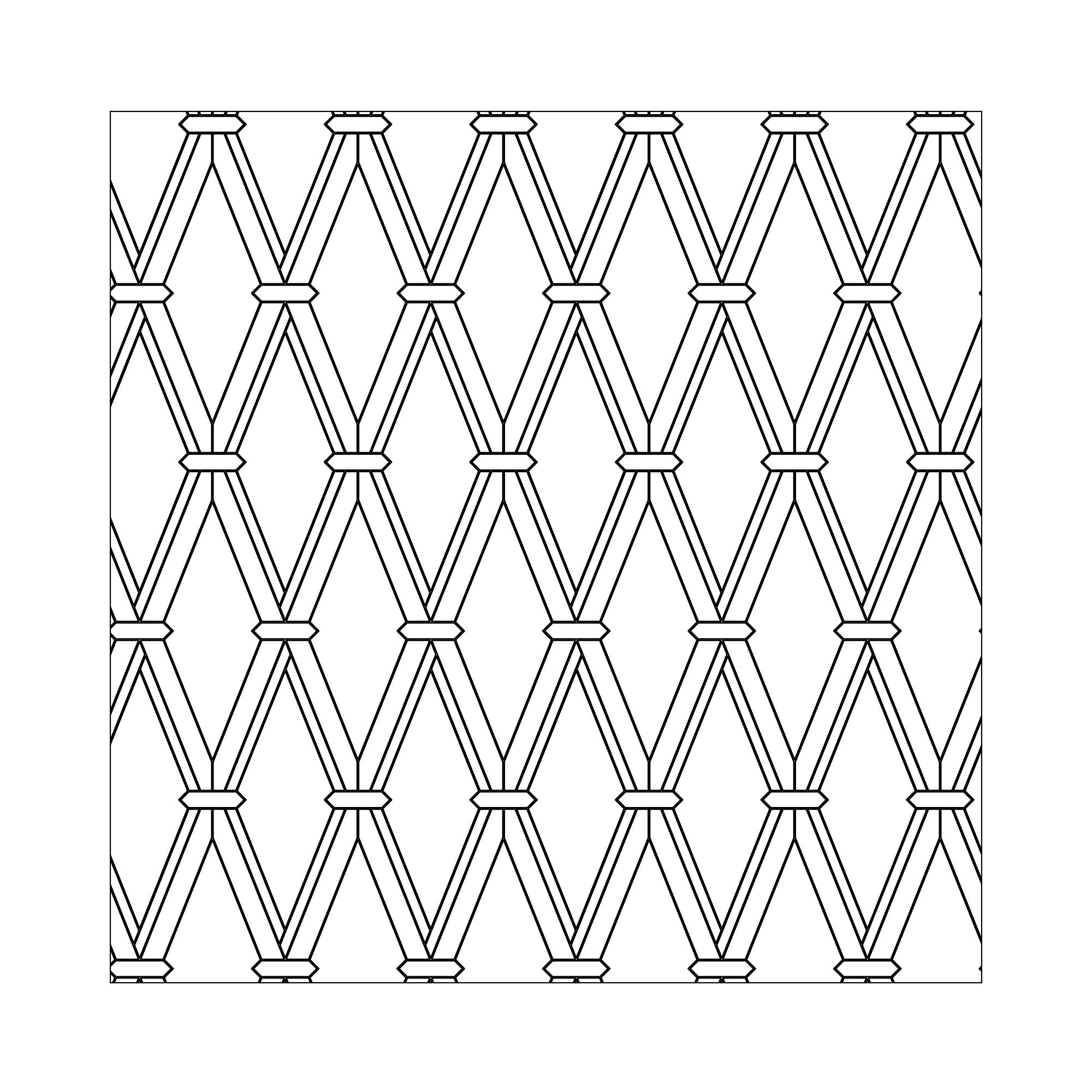 illustration of tile shape