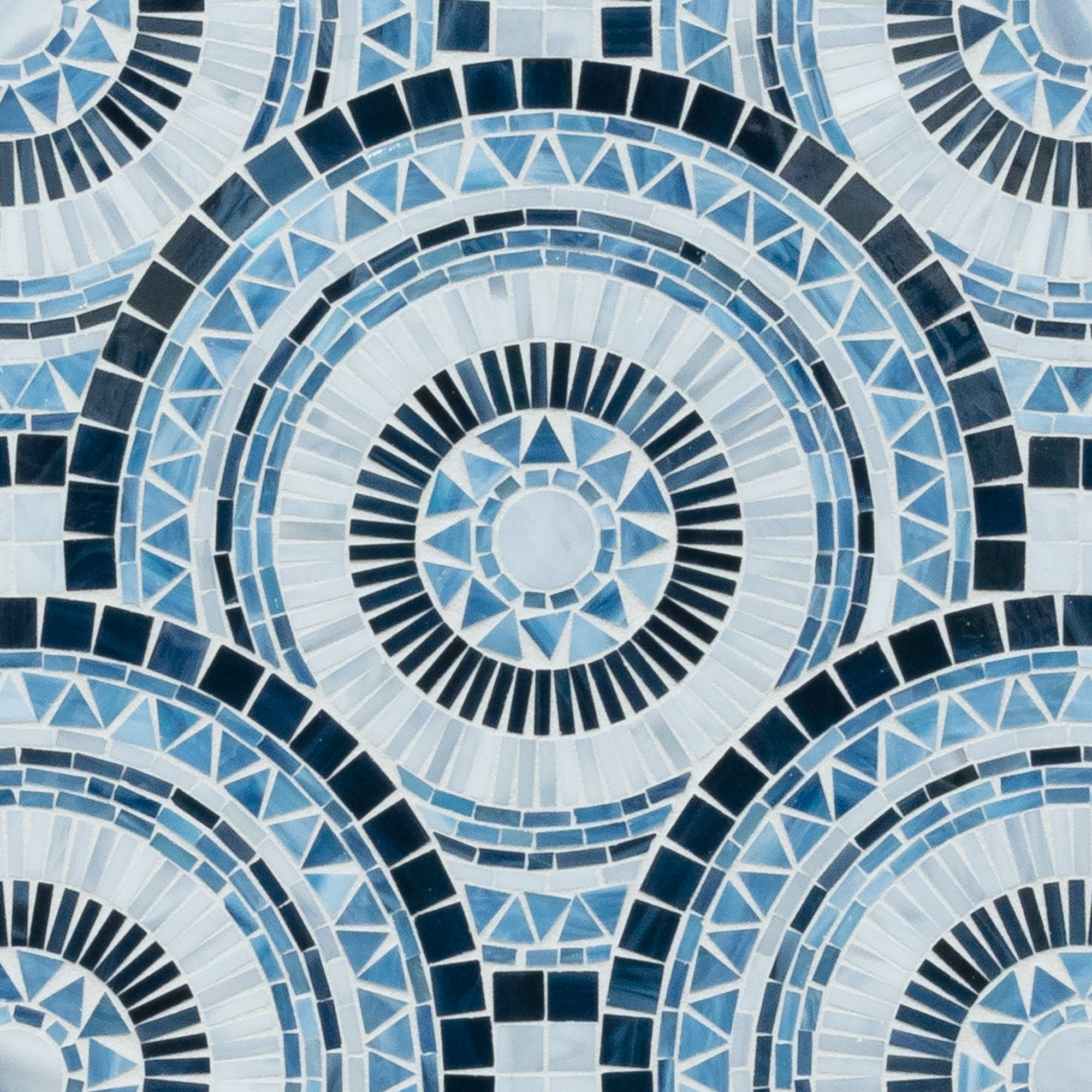 Blue Note Circles Trumpet Turquoise Mosaic product photo