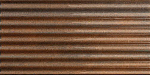Ribbed Oxide Metal Rusty Field Tile product photo