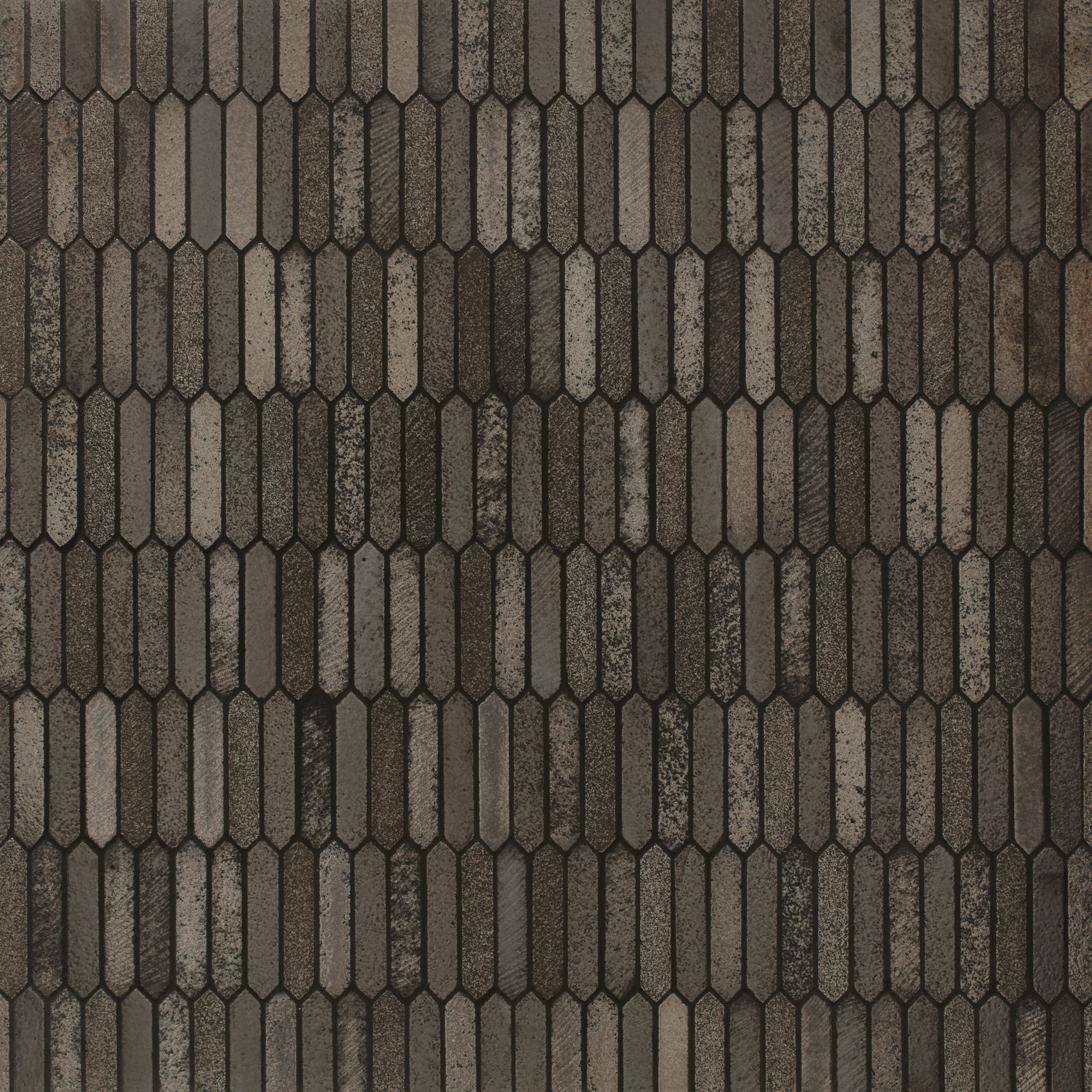 Mosaic Volcano Bronze Blend Basalt Swatch Card  Crackle Samples Picket product photo