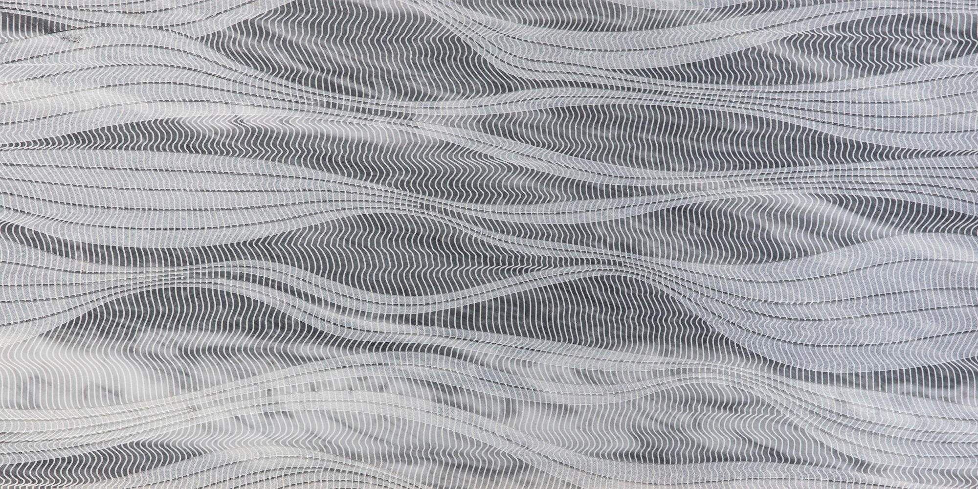 River By Lori Weitzner Bardiglio Nuvolato Marble Field Dimensional product photo
