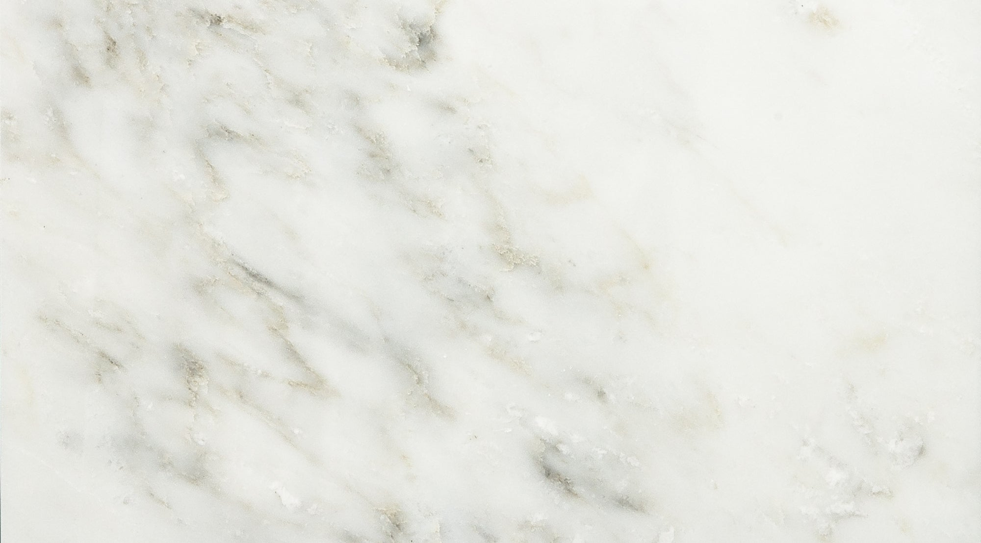 Pacific White A1 Select Marble Slab 3/4