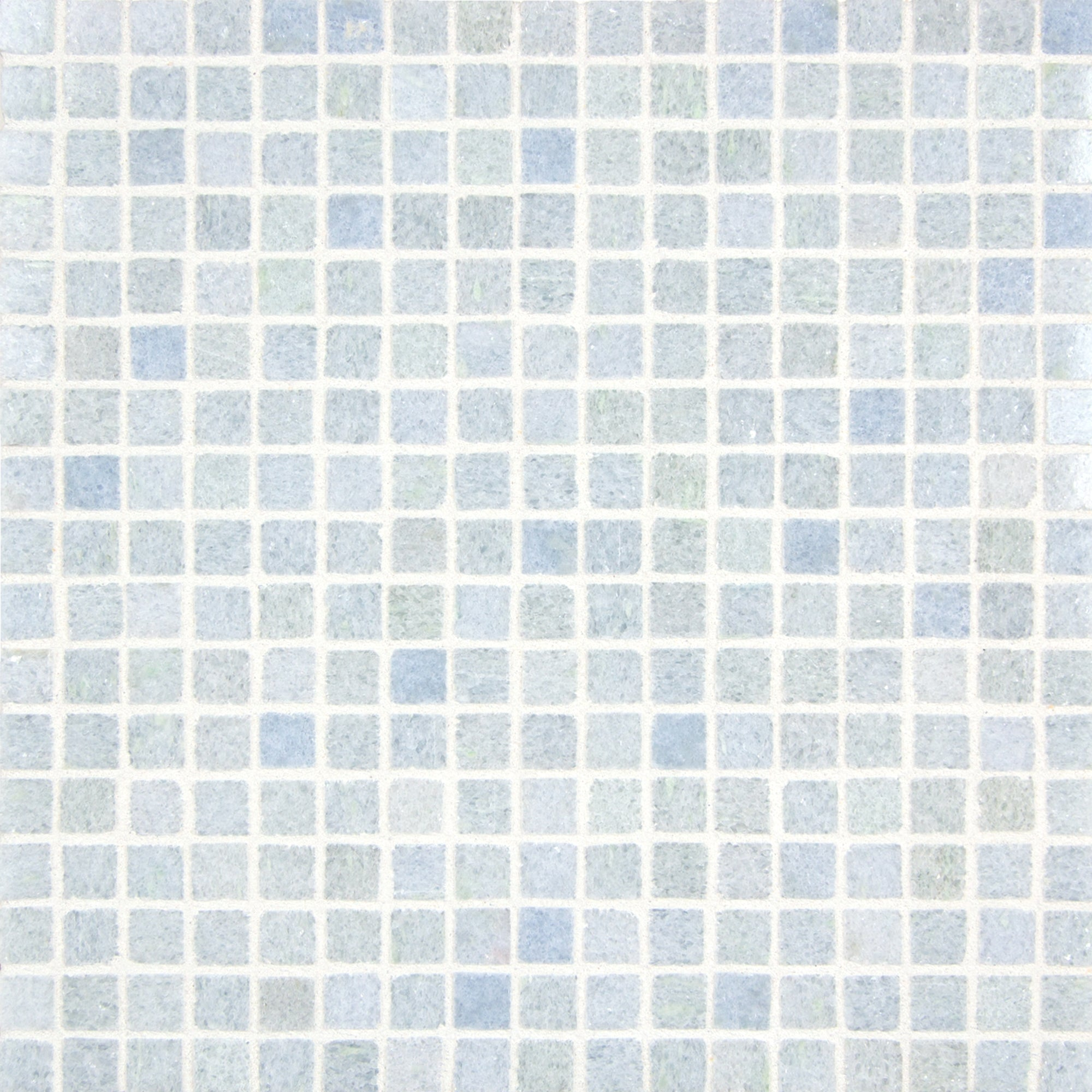 Mosaic Azul Cielo Marble Swatch Card  Polished Samples Straight Joint 1.5cm product photo