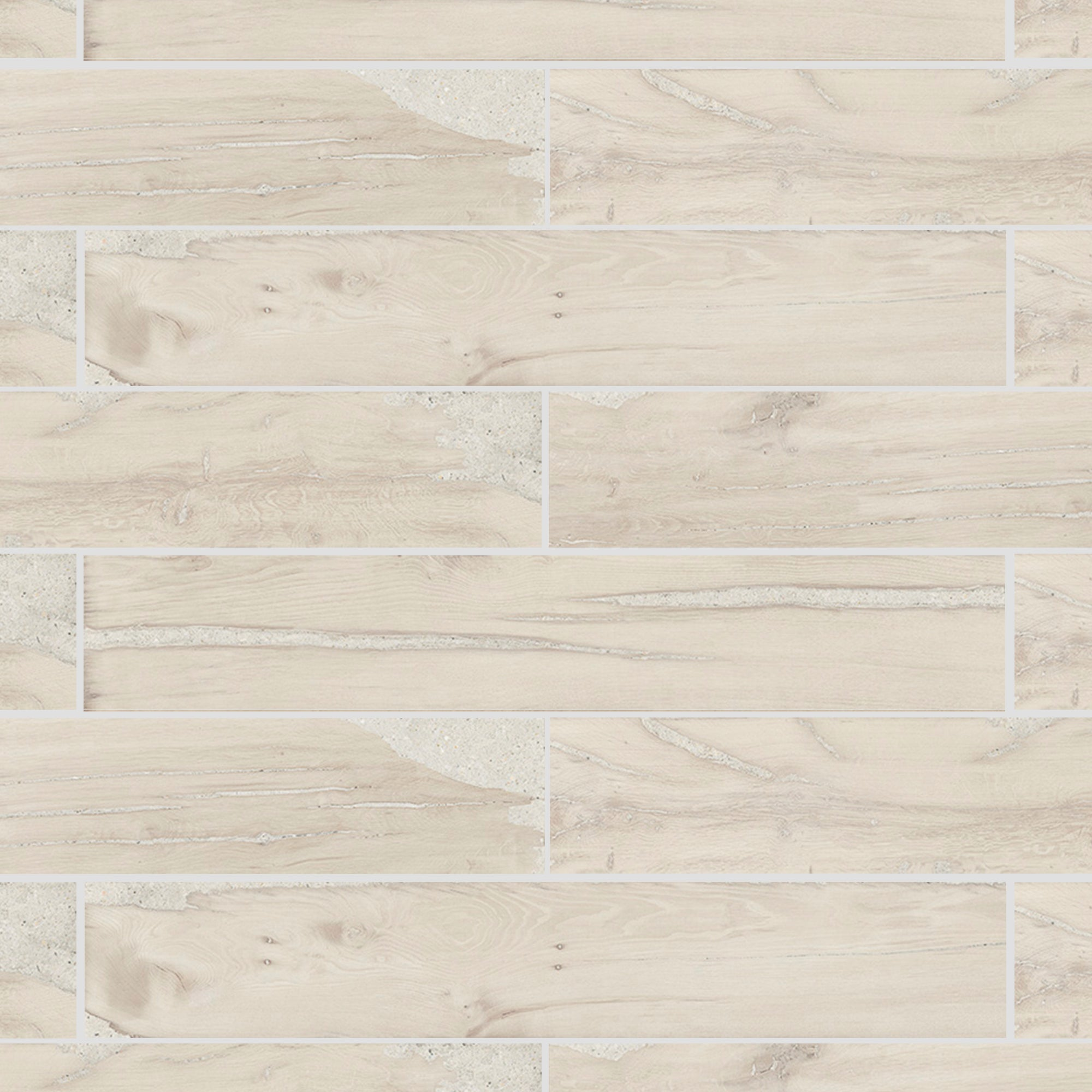 Beach House Wood Ivory Field Tile product photo