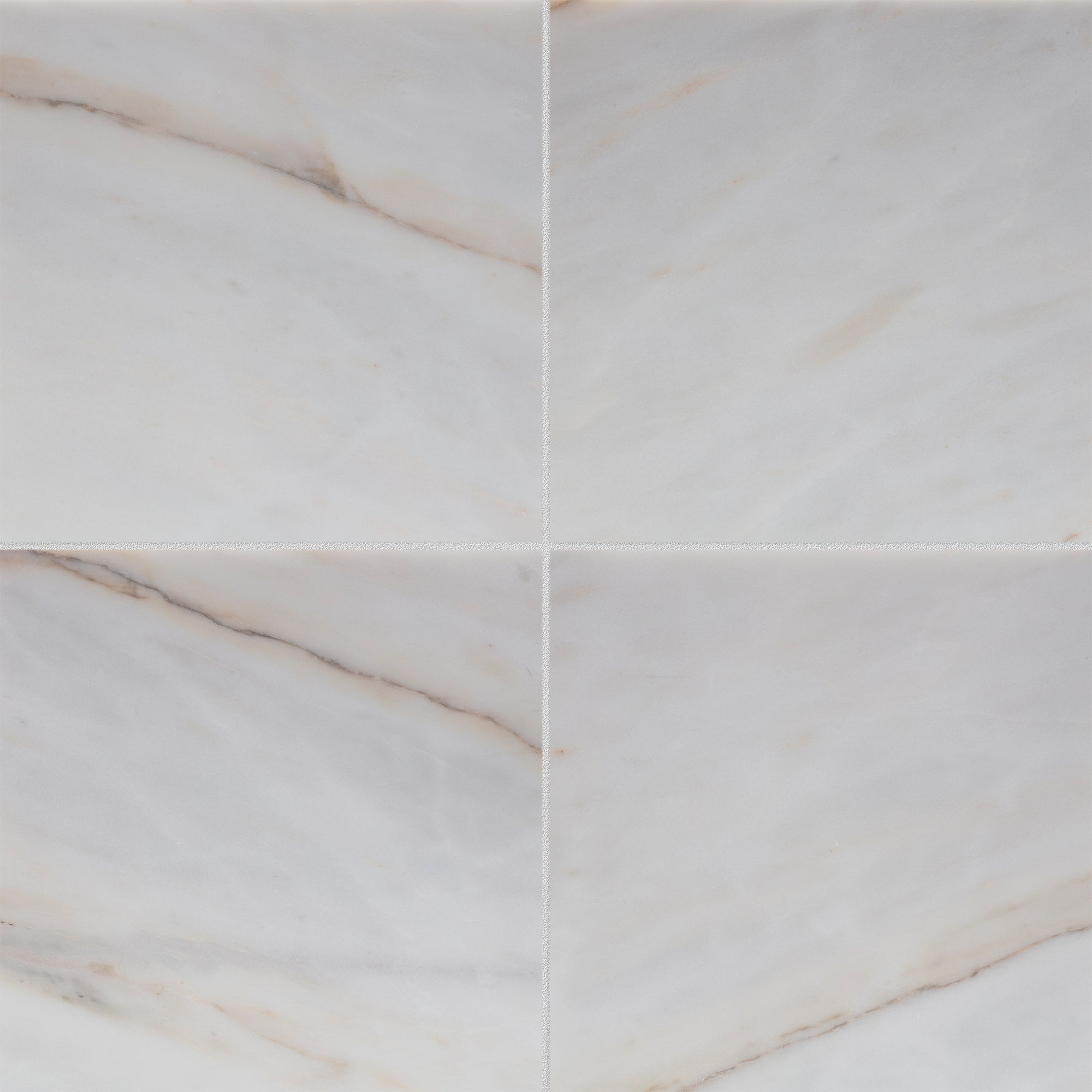 Calacatta Rosa Marble Swatch Card  Honed 12 x 24 x 3/8