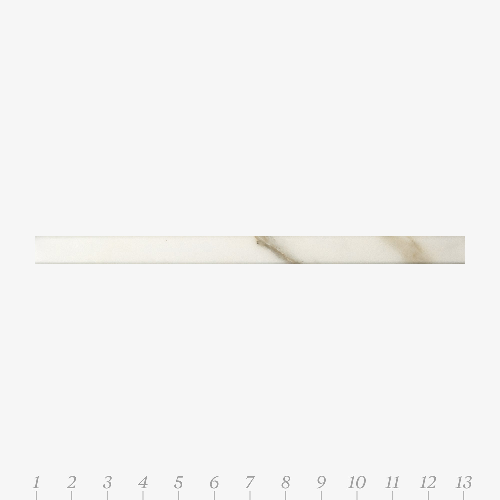 Chelsea 1 Calacatta Gold Marble Swatch Card  Honed Samples Liner product photo