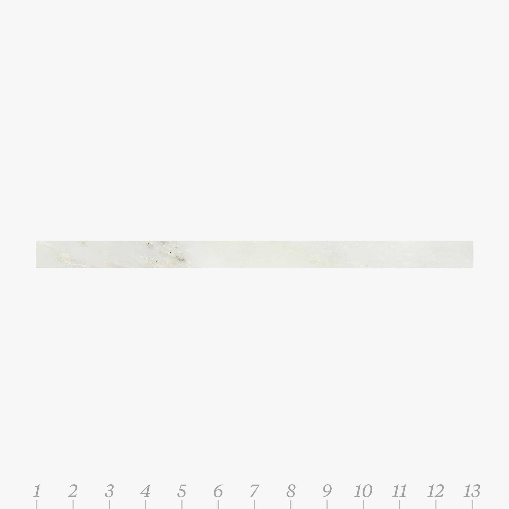 Chelsea 1 Pacific White Marble Swatch Card  Polished Samples Liner product photo