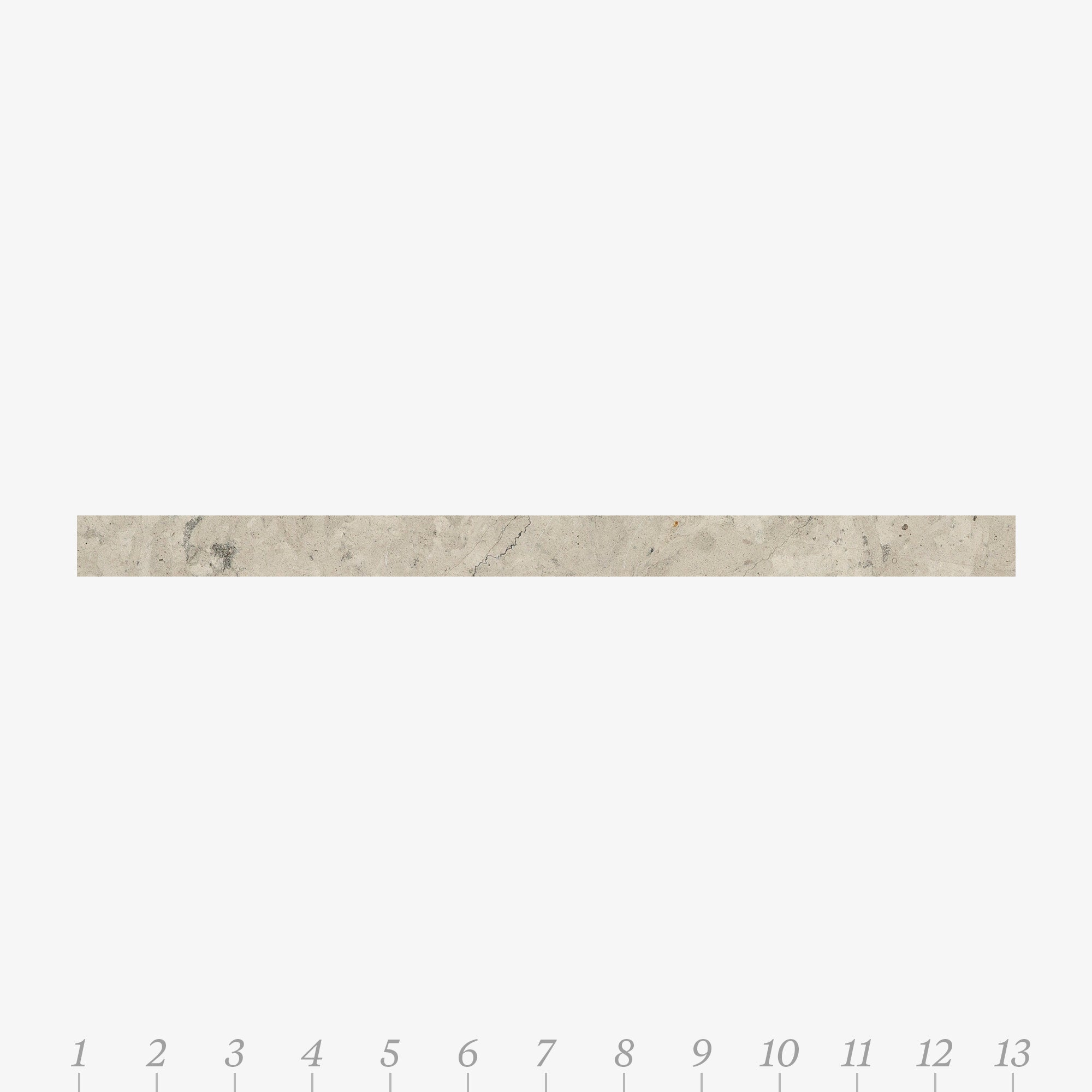 Chelsea 1 Smoke Limestone Swatch Card  Honed Samples Liner product photo