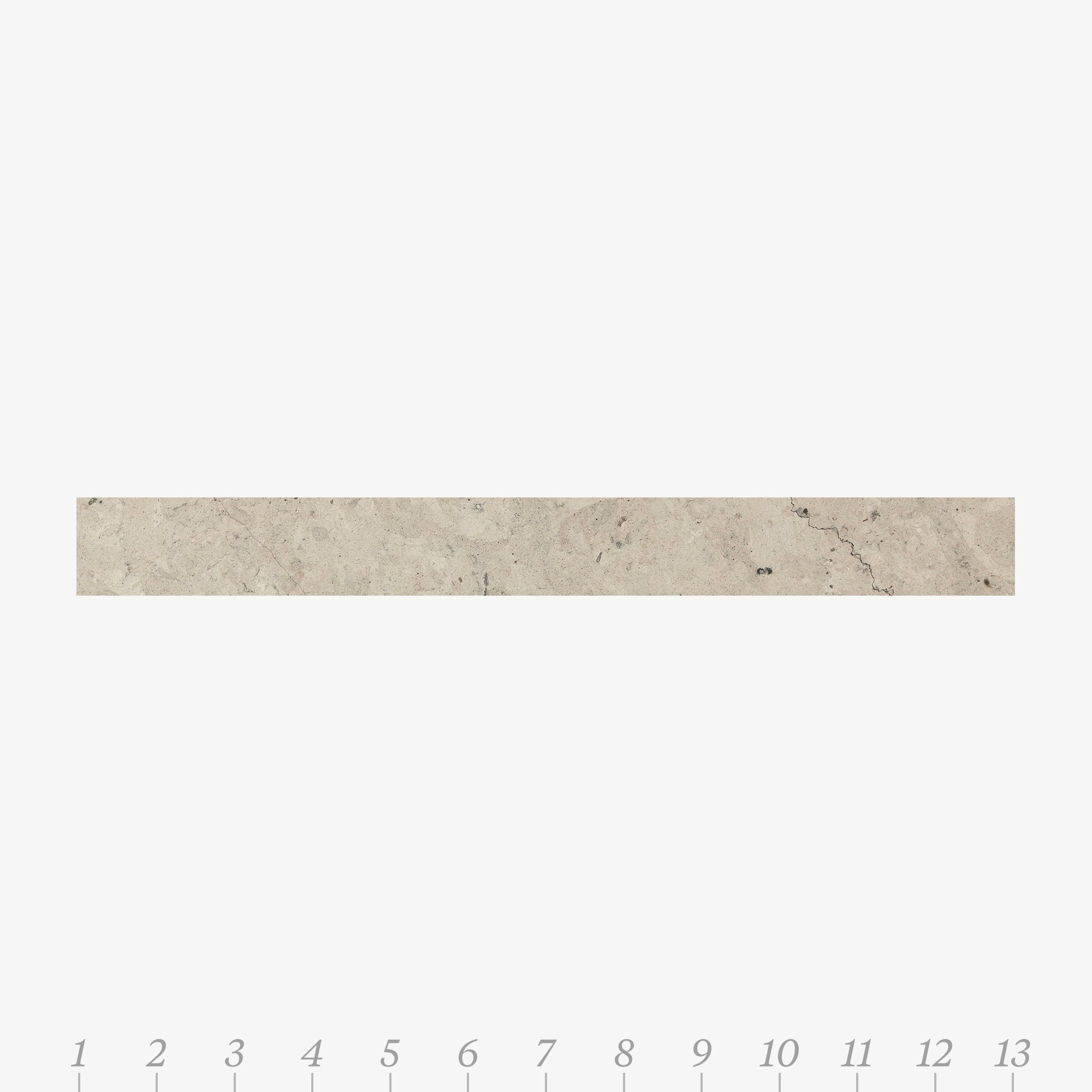 Chelsea 2 Smoke Limestone Swatch Card  Honed Samples Liner product photo